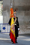 Madrid, (24/10/10).- Guardia Real desfilando en el patio de El Palacio Real......King Juan Carlos I of Spain presided the Credential Cards giving to diplomatics in Spain...Photo: Alex Cid-Fuentes / ALFAQUI