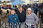 Henery, Billy and Siobhan Reidy take time out for a photo at the fair in Athea on Saturday..   Copyright Kerry's Eye 2008