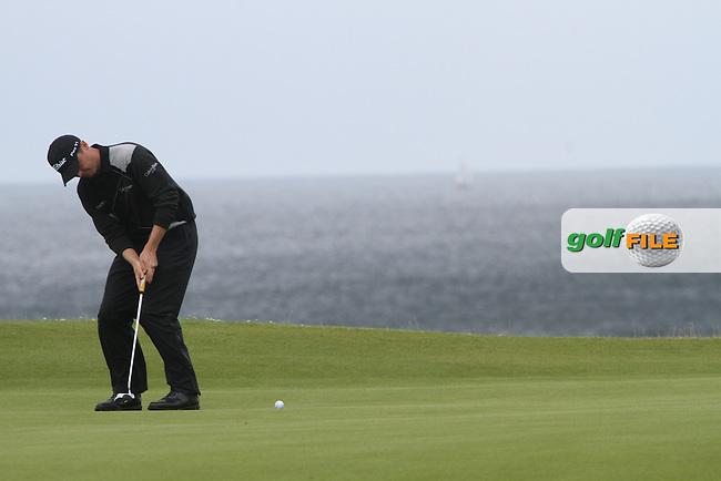 Michael Hoey (NIR) on the 5th on Day 2 of the 2012 Irish Open at Royal Portrush Golf Club, Portrush, Co.Antrim, 29/6/12...(Photo Jenny Matthews/www.golffile.ie)