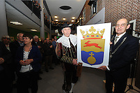 ALGEMEEN: JOURE: 06-01-15, Gemeentehuis Heremastate, Nieuwjaarsreceptie Friese Meren, Burgemeester Arie Aalberts, ©foto Martin de Jong