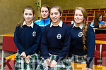 Tralee Chamber Alliance -  &ldquo;Our Big Idea&rdquo; event for TY Students at the IT Tralee North Campus on Monday. Pictured Presentation Tralee TY Students Kelly Flannery,<br /> Cara Segal, Caemnat Moore, Rebecca Duggan, with their project ' triple P'