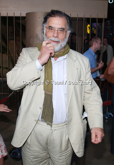"""Francis Ford Coppola arriving at the """" CQ premiere""""  at the Egyptian Theatre in Los Angeles. May 13, 2002.            -            CoppolaFrancisFord02.jpg"""