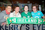 ..IRELAND: Tralee Rugby Club Ladies who came to ders deli for breakfast to watch Ireland play Wales in the Quarter final of theRugby World Cup at 6am on Saturday morning. L-r:Siobhan Barrett, Riona Kennedy, Shauna Lynch and Leanne McCarthy.