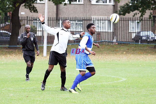 BROMLEY v ERITH AND BELVEDERE<br /> KENT YOUTH LEAGUE U16 NORTH SUNDAY 21ST SEPT 2014
