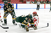 Celeste Doucet (Vermont - 12), Lindsey Cashman (Vermont - 20), Jill Cardella (BU - 22) - The Boston University Terriers tied the visiting University of Vermont Catamounts 2-2 on Saturday, November 13, 2010, at Walter Brown Arena in Boston, Massachusetts.