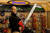 Husqvara's Vice President of  Marketing John Marchionda...Photo by: PatrickSchneiderPhoto.com