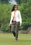 Camila Alves during the Mission Hills Start Trophy at the Mission Hills Golf Resort on October 31, 2010 in Haikou, China. The Mission Hills Star Trophy is Asia's leading leisure liflestyle event and features Hollywood celebrities and international golf stars. Photo by Victor Fraile