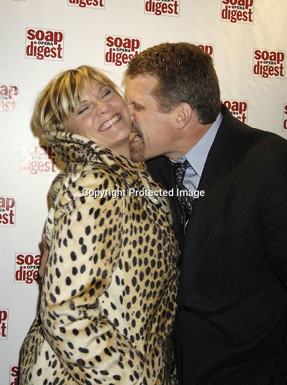 Kim Zimmer and Robert Newman ..at the 30th Anniversary Party for Soap Opera Digest on ..November 17, 2005 at PM Lounge. ..Photo by Robin Platzer, Twin Images