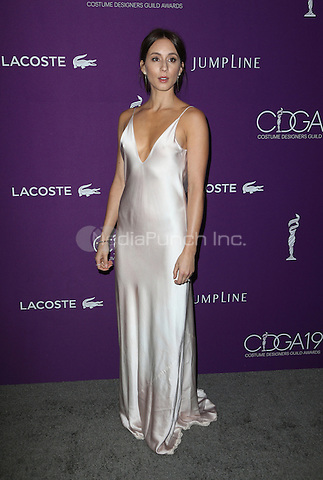 Beverly Hills, CA - February 21: Troian Bellisario, At 19th CDGA (Costume Designers Guild Awards), At The Beverly Hilton Hotel In California on February 21, 2017. Credit: Faye Sadou/MediaPunch