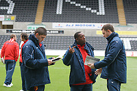 Pictured: <br /> Re: Coca Cola Championship, Swansea City Football Club v Watford at the Liberty Stadium, Swansea, south Wales 09 November 2008.<br /> Picture by Dimitrios Legakis Photography (Athena Picture Agency), Swansea, 07815441513