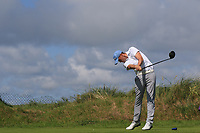 Robert Brazill (Naas) on the 7th tee during the Final of the AIG Irish Amateur Close Championship 2019 in Ballybunion Golf Club, Ballybunion, Co. Kerry on Wednesday 7th August 2019.<br /> <br /> Picture:  Thos Caffrey / www.golffile.ie<br /> <br /> All photos usage must carry mandatory copyright credit (© Golffile | Thos Caffrey)
