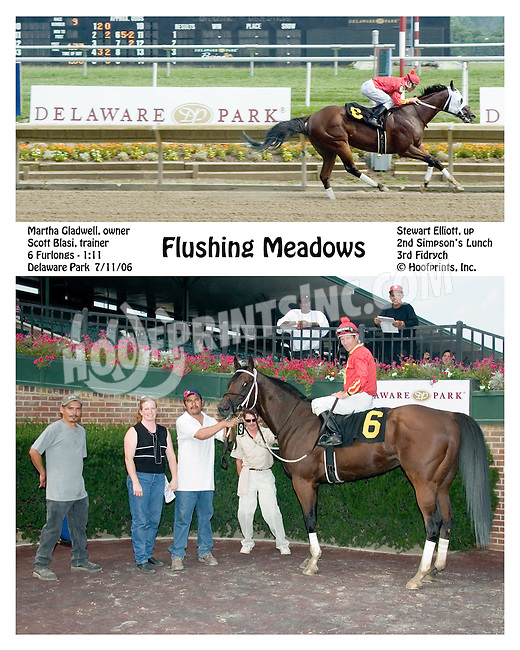 Flushing Meadows winning at Delaware Park on 7/11/06