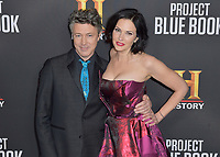 "03 January 2019 - Los Angeles, California - Aidan Gillen, Laura Mennell. ""Project Blue Book"" History Scripted Series Los Angeles Premiere held at Simon House. Photo Credit: AdMedia"