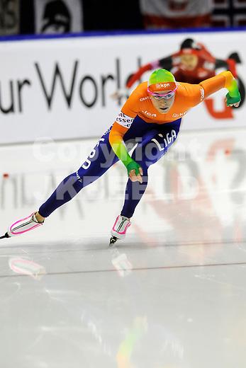 HEERENVEEN - Schaatsen, IJsstadion Tialf, World Cup, 2011-2012, 03-12-2011,  Annette Gerritsen