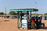 SOUTH SUDAN, Bahr al Ghazal region, Lakes State, town Rumbek , fuel station  / SUED-SUDAN  Bahr el Ghazal region , Lakes State, Rumbek , Tankstelle