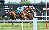 Holiday Star winning The Cape Henlopen Stakes at Delaware Park on 7/11/15