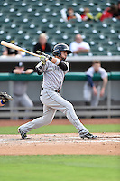 Jackson Generals left fielder Benji Gonzalez (3) swings at a pitch during a game against the Tennessee Smokies at Smokies Stadium on July 5, 2016 in Kodak, Tennessee. The Generals defeated the Smokies 6-4. (Tony Farlow/Four Seam Images)