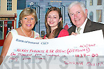 Margaret McAuliffe and Oliver O'Neill from the Kerry Parents and Friends of the Mentally Handicapped Association in Listowel who accepted a cheque for EUR1,437 from Sarah Quinn, Tullamore, Listowel this week after she took on the Ladies Mini Marathon last June.   Copyright Kerry's Eye 2008