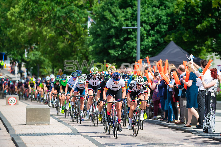 Picture by Alex Whitehead/SWpix.com - 15/06/2018 - Cycling - 2018 OVO Energy Women's Tour - Stage 3, Atherstone to Royal Leamington Spa - University of Warwick.