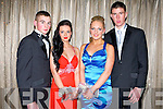 DEBS BALL: Having fun at the St Joseph's Presentation, Castleisland Debs Ball at the Earl of Desmond hotel on Saturday l-r:Conor Sheehan, Clodagh O'Sullivan, Shannon O'Sullivan and Gearoid O'Farrell.