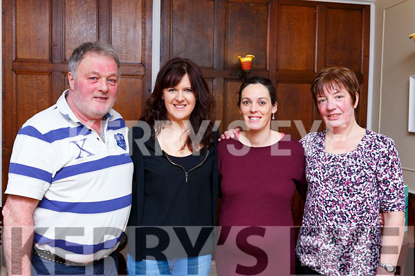 Landers staff Mileheight Tralee enjoying a night out in Denny Lane on Saturday night last.<br /> L-r, Tim Landers, Trisha O&rsquo;Sullivan, Marie Scott and Theresa Hanafin.