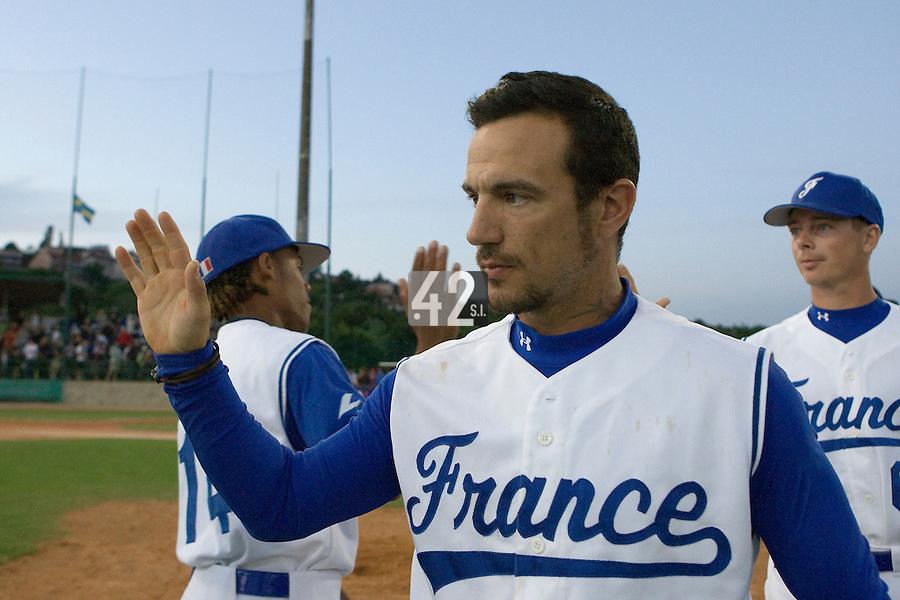 BASEBALL - GREEN ROLLER PARK - PRAGUE (CZECH REPUBLIC) - 28/06/2008 - PHOTO: CHRISTOPHE ELISE.FREDERIC ROUGE (TEAM FRANCE)