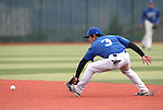 Wildcats' David Modler makes a play against Utah State University Eastern at Western Nevada College in Carson City, Nev., on Saturday, April 25, 2015. WNC won 7-1.<br /> Photo by Cathleen Allison