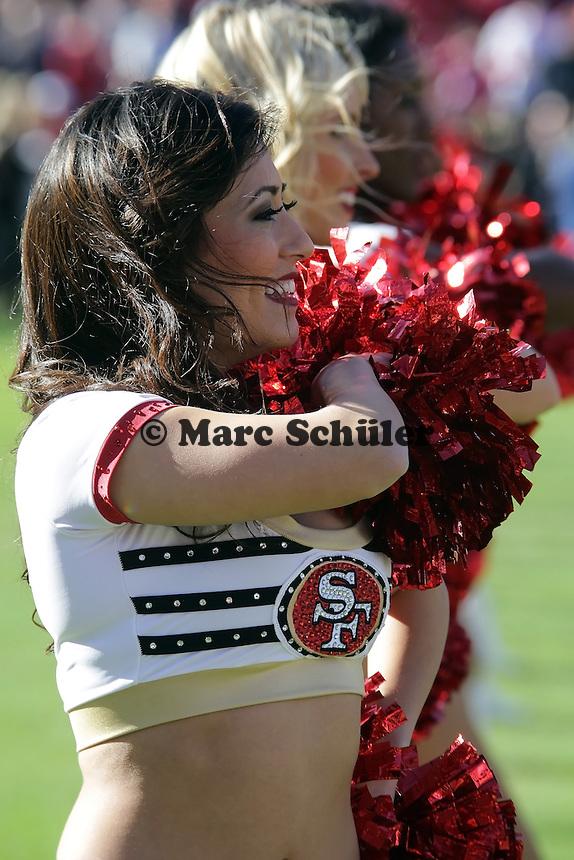 Cheerleader des San Francisco 49ers Gold Rush