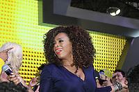 SAO PAULO, SP, 09.11.2014 - SALAO DO AUTOMOVEL - Paula Lima durante apresentação no último dia do 28º Salão Internacional do Automóvel no Anhembi na região norte de São Paulo, neste domingo, 09. (Foto: Marcos Moraes / Brazil Photo Press).