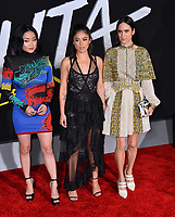 LOS ANGELES, CA. February 05, 2019: Lana Condor, Rosa Salazar &amp; Jennifer Connelly at the premiere for &quot;Alita: Battle Angel&quot; at the Regency Village Theatre, Westwood.<br /> Picture: Paul Smith/Featureflash