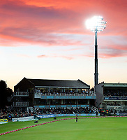 Colin Cowdrey stand during the Vitality Blast T20 game between Kent Spitfires and Somerset at the St Lawrence Ground, Canterbury, on Thur Aug 16, 2018