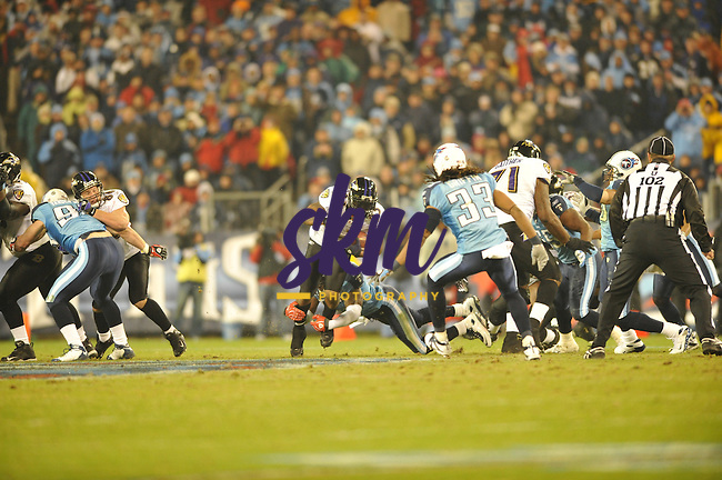 In the divisional round of the playoffs the Ravens faced the Titans in a rematch from earlier in the season as well as what some are calling a rematch of the 200 playoffs. The result left the Titans and their fans heart broken as the Ravens walked away with a 13 - 10 victory over the Titans.