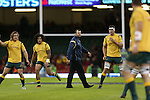 Australia head coach Michael Cheika<br /> Dove Men Series 2014<br /> Wales v Australia<br /> Millennium Stadium<br /> 08.11.14<br /> ©Steve Pope-SPORTINGWALES