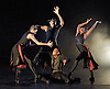 Orpheus<br /> choreography by Will Tuckett<br /> <br /> Ballet Black <br /> Artistic director Cassa Pancho<br /> <br /> Damien Johnson (as Orpheus)<br /> centre<br /> <br /> <br /> Photograph by Elliott Franks