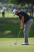 Graeme McDowell (NIR) watches his putt on 5 during round 2 of the 2019 Charles Schwab Challenge, Colonial Country Club, Ft. Worth, Texas,  USA. 5/24/2019.<br /> Picture: Golffile   Ken Murray<br /> <br /> All photo usage must carry mandatory copyright credit (© Golffile   Ken Murray)
