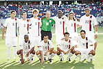 21 June 2007:  United States starting eleven. The United States Men's National Team defeated the national team of Canada 2-1 in a CONCACAF Gold Cup Semifinal match at Soldier Field in Chicago, Illinois.