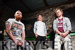 Local band No Direction who will play support to Hermitage Green at this years Gather By The Feale Summer Festival, pictured last Friday at the launch in Jack Ryan's Bar, Abbeyfeale.