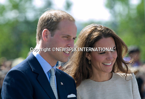 """WILLIAM & KATE CANADA TOUR.The Duke and Duchess of Cambridge Visit Yellowknife, North West Terrorities_05/07/2011.Mandatory Credit Photo: ©NEWSPIX INTERNATIONAL..**ALL FEES PAYABLE TO: """"NEWSPIX INTERNATIONAL""""**..IMMEDIATE CONFIRMATION OF USAGE REQUIRED:.Newspix, 31 Chinnery Hill, Bishop's Stortford, ENGLAND CM23 3PS.Tel:+441279 324672  ; Fax: +441279656877.Mobile:  07775681153.e-mail: info@newspixinternational.co.uk"""