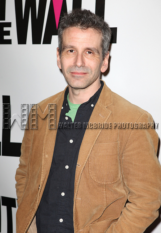 David Cromer attending the New York Premiere of the Opening Night Performance of 'Hit The Wall' at the Barrow Street Theatre  in New York City on 3/10/2013