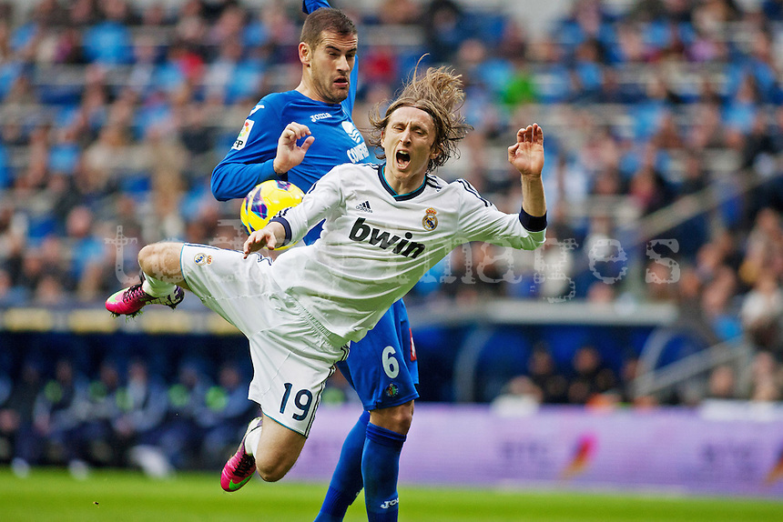 Penalty against Modric