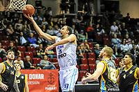 GRONINGEN - Basketbal, Donar - Den Helder Suns, Dutch Basketbal League, seizoen 2018-2019, 20-04-2019, score Donar speler Drago Pasalic