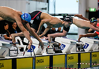 Bradlee Ashby (100m free) in action during the Swimming New Zealand Short Course Championships,Owen G Glenn National Aquatic Centre, Auckland, New Zealand, Saturday October 2017. Photo: Simon Watts/www.bwmedia.co.nz