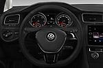 Car pictures of steering wheel view of a 2017 Volkswagen Golf Trendline 3 Door Hatchback