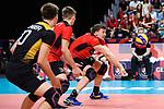 14.09.2019, Paleis 12, BrŸssel / Bruessel<br />Volleyball, Europameisterschaft, Deutschland (GER) vs. Belgien (BEL)<br /><br />Annahme Christian Fromm (#1 GER)<br /><br />  Foto © nordphoto / Kurth