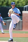 07 May 2016: North Carolina's J.B. Bukauskas. The University of North Carolina Tar Heels played the University of Louisville Cardinals in an NCAA Division I Men's baseball game at Boshamer Stadium in Chapel Hill, North Carolina.