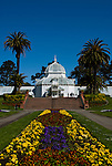 California: San Francisco. Conservatory of Flowers in Golden Gate Park.  Photo copyright Lee Foster. Photo #: 23-casanf78872