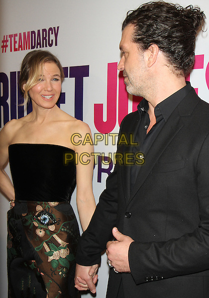 NEW YORK, NY-September 12:Renee Zellweger, Doyle Bramha ll at Universal Picture &amp; Working Title Films present the American premiere of Bridget Jones Baby at the Paris Theatre in New York. September 12, 2016. <br /> CAP/MPI/RW<br /> &copy;RW/MPI/Capital Pictures