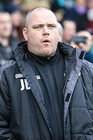 Jim Bentley (Manager) of Morecambe during the Sky Bet League 2 match between Northampton Town and Morecambe at Sixfields Stadium, Northampton, England on 23 January 2016. Photo by David Horn / PRiME Media Images.