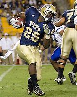 September 06, 2008: Pitt running back LeSean McCoy..The Pitt Panthers defeated the Buffalo Bulls 27-16 on September 06, 2008 at Heinz Field, Pittsburgh, Pennsylvania.