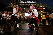 4th November 2017, Sydney Football Stadium, Sydney, Australia; Rugby League World Cup, England versus Lebanon; morris dancers perform in front of the stadium before the game